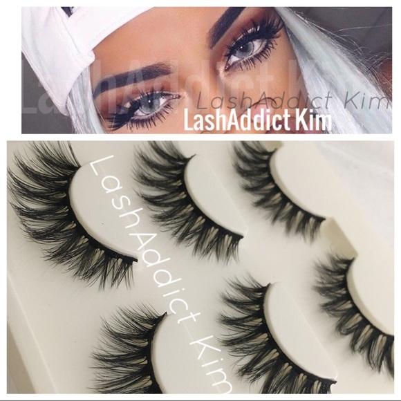 46997103723 Makeup | 3 Pairs Mink Lashes Eyelashes 3d Fur | Poshmark